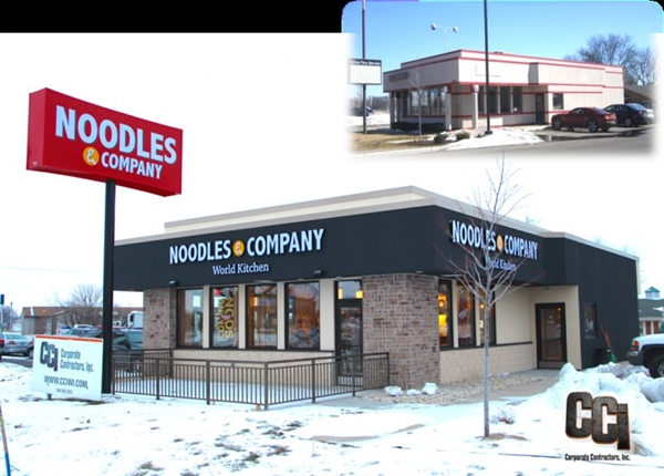 CCI completes Noodles & Co. renovation