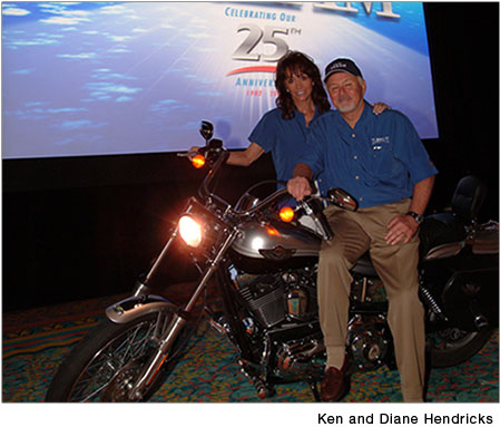 Ken and Diane Hendricks of Hendricks Holding Company
